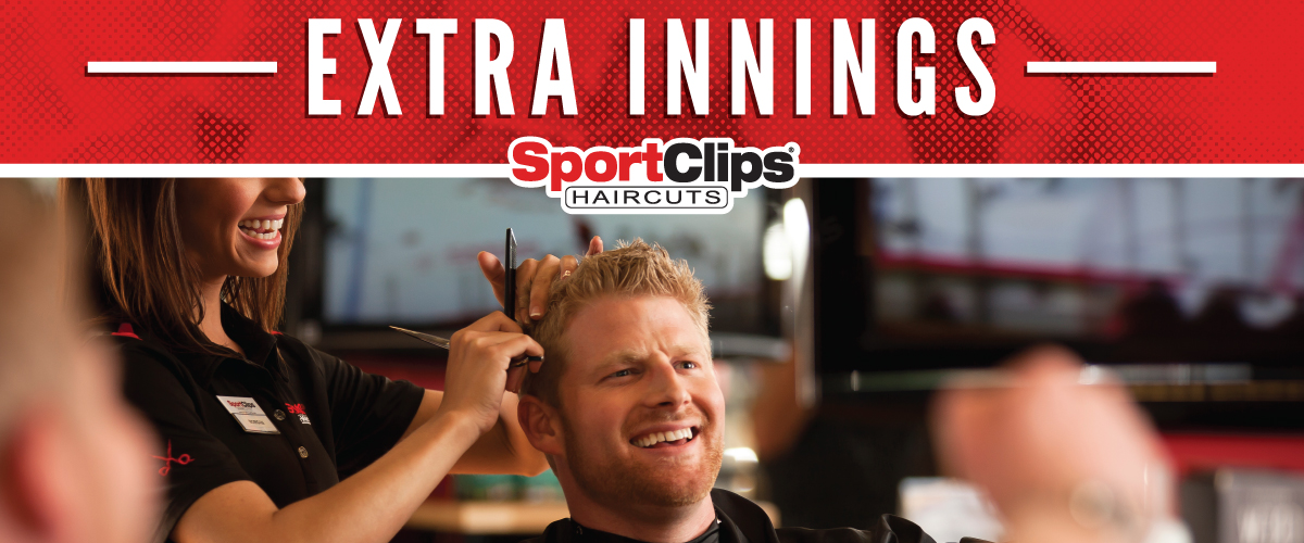 The Sport Clips Haircuts of Medford Place Extra Innings Offerings